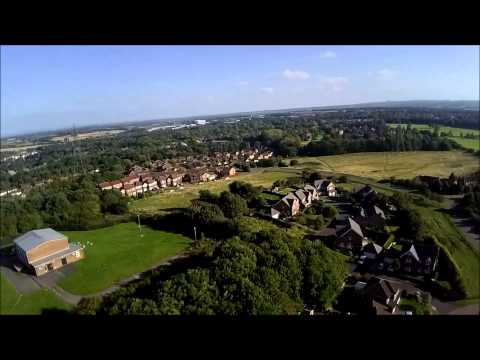 DJI Phantom Flyover Runcorn Cheshire UK