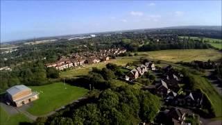 DJI Phantom Flyover Runcorn Cheshire UK