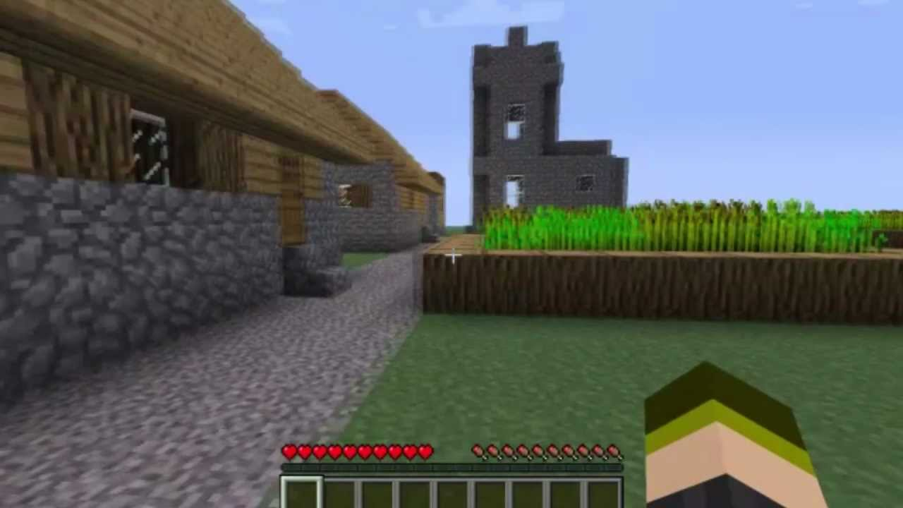 how to clear land in minecraft pe
