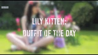 Lily Kitten: OOTD - Graphic Floral Print Thumbnail