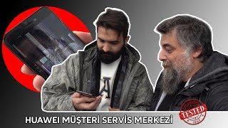 EKRANI KIRDIK 30 DK'da TAMİR ETTİLER! | #testettik (HUAWEI TEKNİK SERVİS)