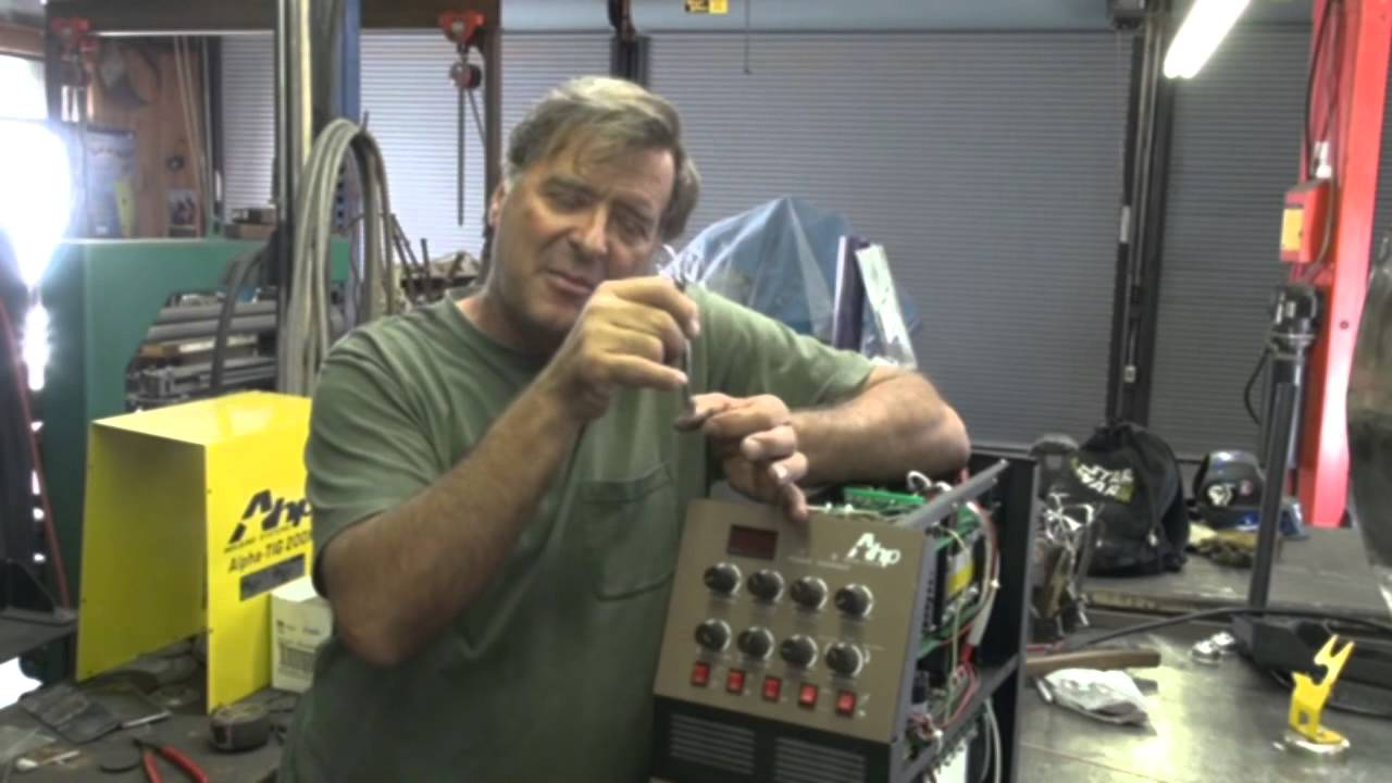 How To Check And Adjust Your Tig Welders High Frequency Points Inverter Welding Machines Diagram Kevin Caron