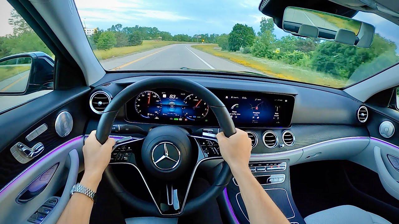 2021 Mercedes-Benz E450 4Matic Sedan - POV Review