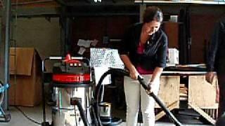 видео Промышленный пылесос PANDA V 633 M
