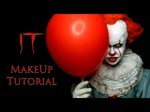 Pennywise Makeup Tutorial | Prank IT 2019| Как сделать грим Пеннивайз - макияж на хэллоуин | Пранк