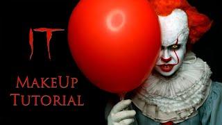 pennywise Makeup Tutorial  Prank IT 2019 Как сделать грим Пеннивайз - макияж на хэллоуин  Пранк