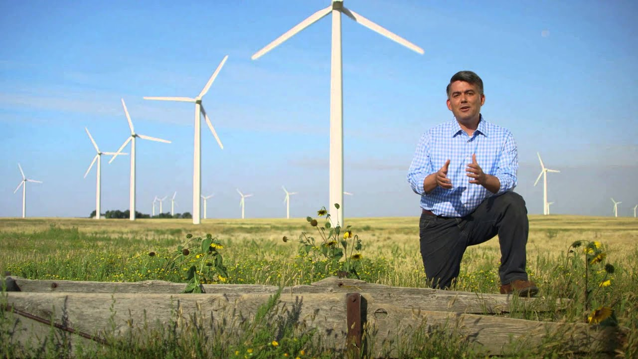 Image result for cory gardner windmill picture
