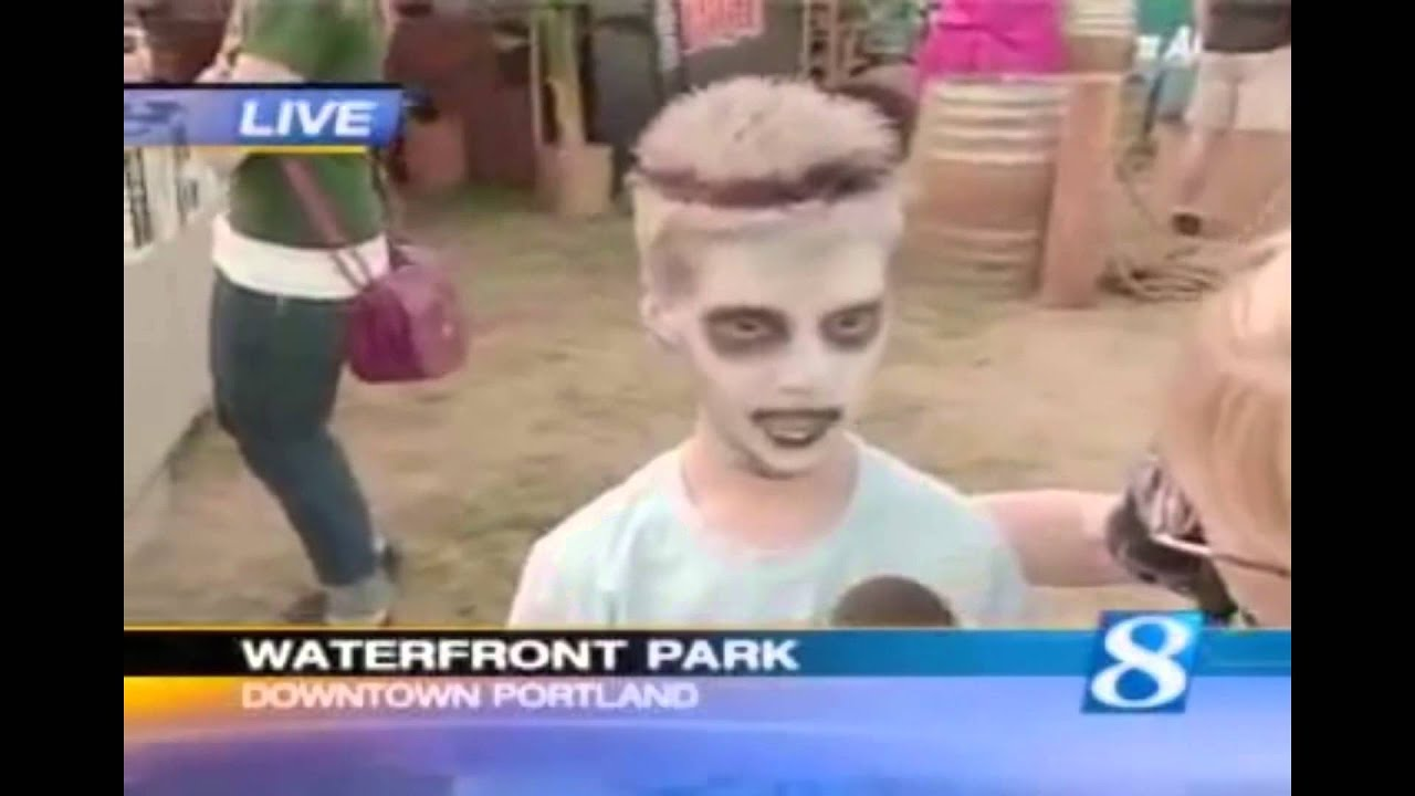 Zombie Kid Funny News Interview Americas Funniest Virals You