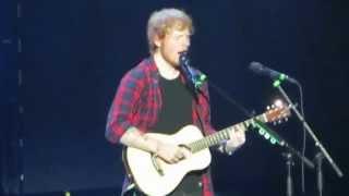 Afire Love - Ed Sheeran / Staples Center / August 27, 2014