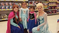 Princesses Meet with ELSA and ANNA (FRozen) in Toy's R us Espoo Finland 25/02/2017