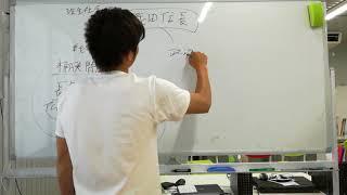 ホワイトボードに3年生と書いてありますが、2年生です。 織田信長のとこ...