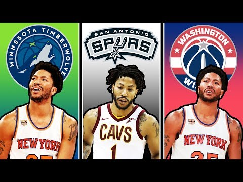 Derrick Rose Wants To Make A Comeback With A New Team