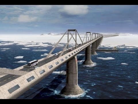 Дерзкие проект   Мост через Берингов пролив Bridge across the Bering Strait