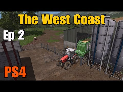Let's Play Farming Simulator 17 PS4: The West Coast, Ep 2