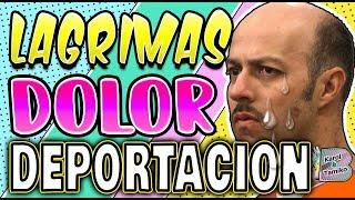 Esteban Loaiza llorando a mares podría ser deportado a Mexico