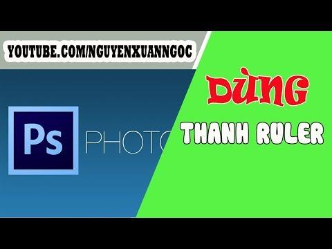 Photoshop cơ bản - Hướng dẫn sử dụng thanh Ruler trong photoshop