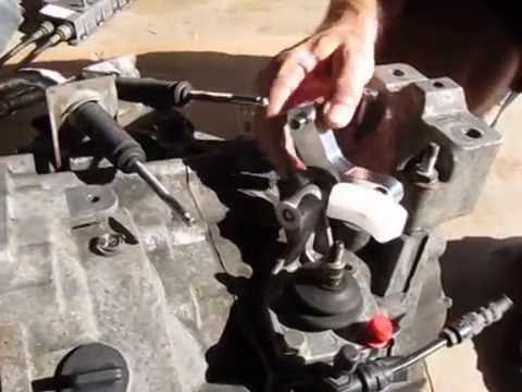Fixing A Stiff Side To Side Vw Shifter Pivot Youtube