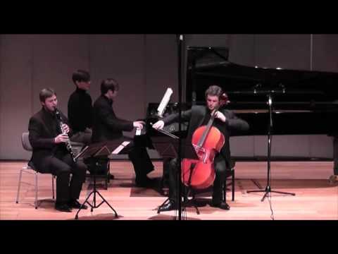 Brahms - Clarinet Trio 2nd Mvt (Sebastian Manz, Charles-Antoine Duflot, Martin Klett)