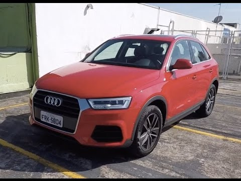 Audi Q3 1.4 Flex 2017 em Detalhes - Falando de Carro