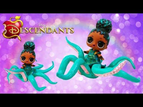 LOL Surprise Doll Custom UMA Octopus Transformation Descendants 2 Movie