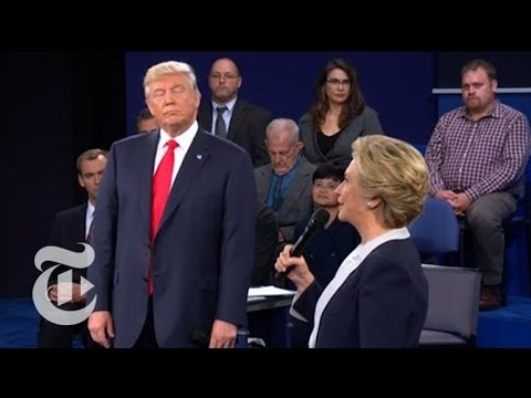 Presidential Candidates Strike Blows | Election 2016 | The New York Times