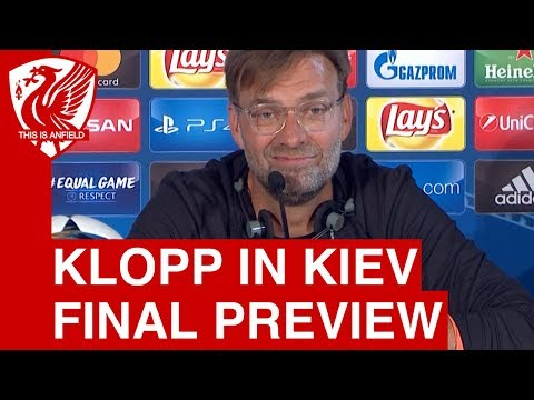 Jurgen Klopp Pre Match Press Conference | Real Madrid Vs. Liverpool | Champions League Final