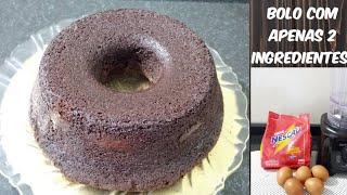 Bolo de chocolate FOFINHO COM APENAS 2 INGREDIENTES | #receitinhasdaben