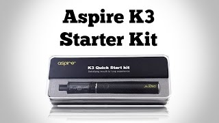 Best Way To Quit - Aspire K3 Starter Kit