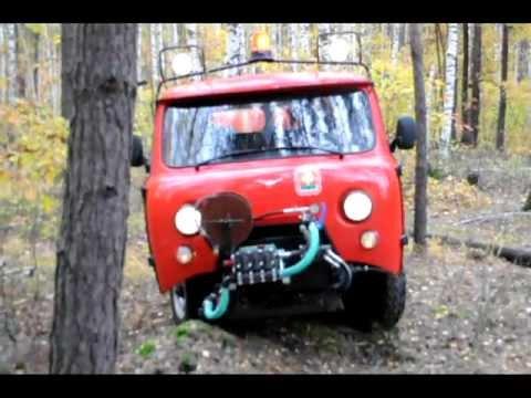 Пожарная  машина  МПМ-«Катюша»  -  лесной  патруль