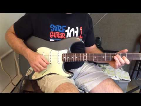 Cary Guitar Lessons: White Rabbit (Part 1) by Jefferson Airplane