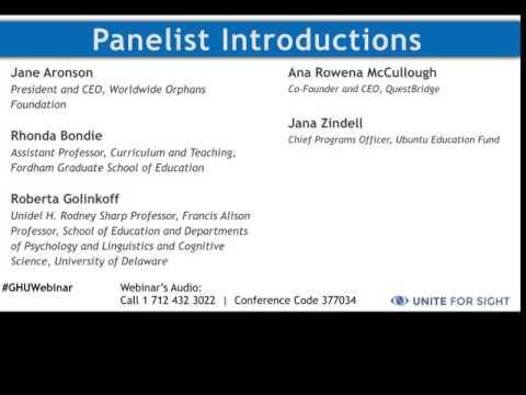 Innovations in Education Webinar Recording