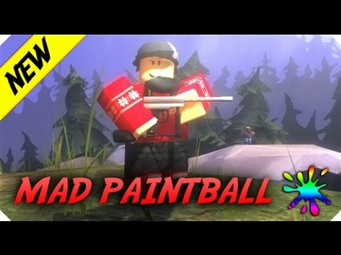 Mad Paintball - All Character Codes!