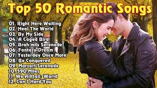 Top 50 Instrumental Love Songs Collection: Saxophone, Piano, Guitar, Violin Love Songs Instrumental