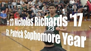 # 23 Nicholas Richards '17, St. Patrick Sophomore, UA Holiday Classic