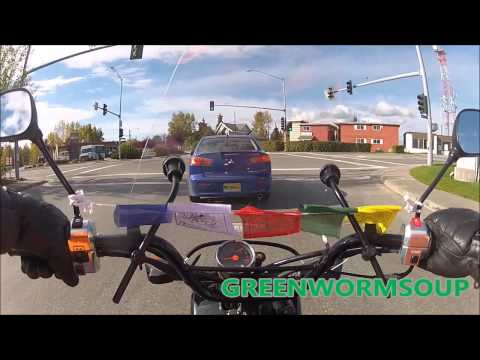 Honda Ruckus Ride - Government Hill Neighborhood - ANCHORAGE ALASKA
