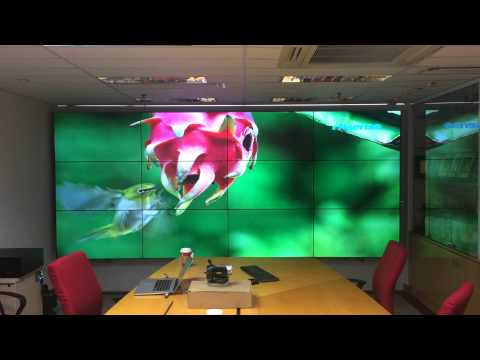PC Vision - Meeting room demo in PC Partner HK headquarter