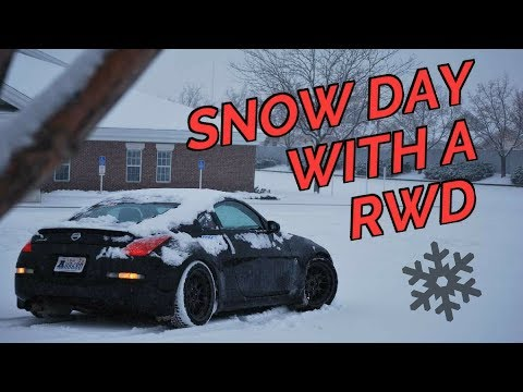 A Day In a 350Z | RWD In The Snow!