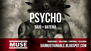 Muse: Psycho ( Bass + Drums ) + Tabs