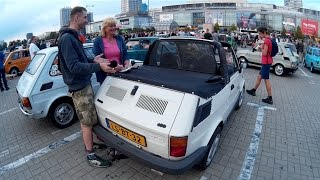 Fiat 126p Zlot na Placu Defilad Warszawa 2016