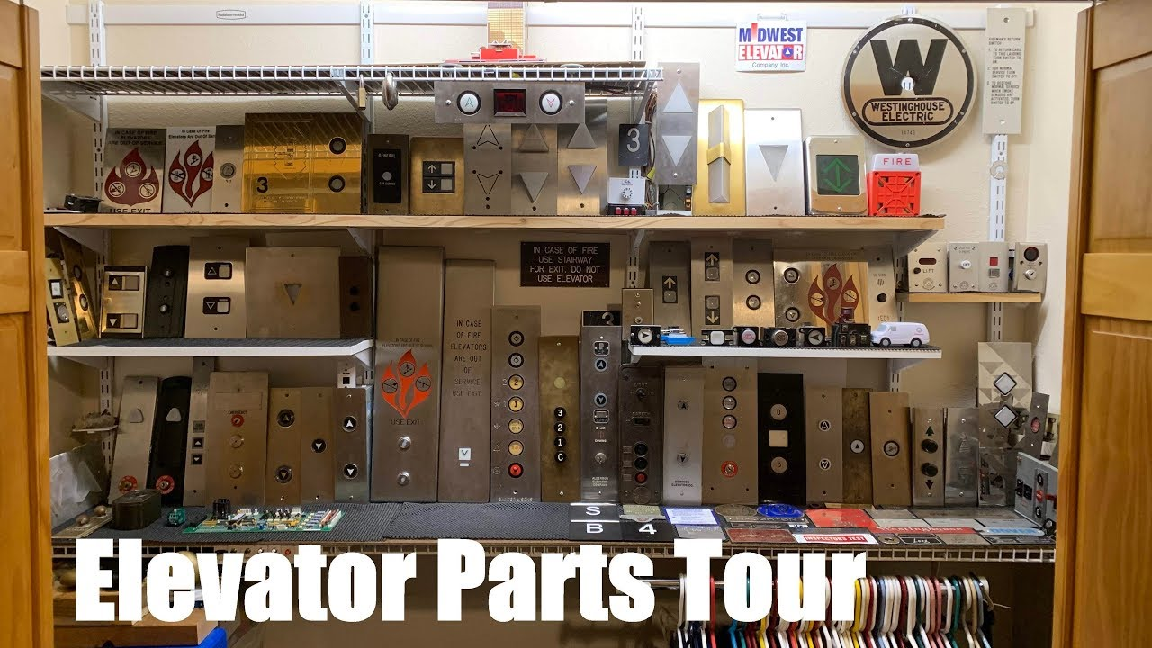Elevator Parts Tour (As of 5-22-19) - YouTube