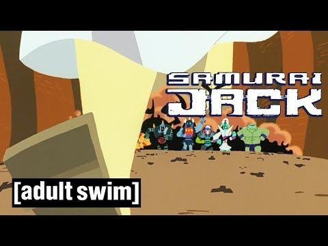 Samurai Jack   Jack vs. Demongo's Warriors   Adult Swim UK 🇬🇧