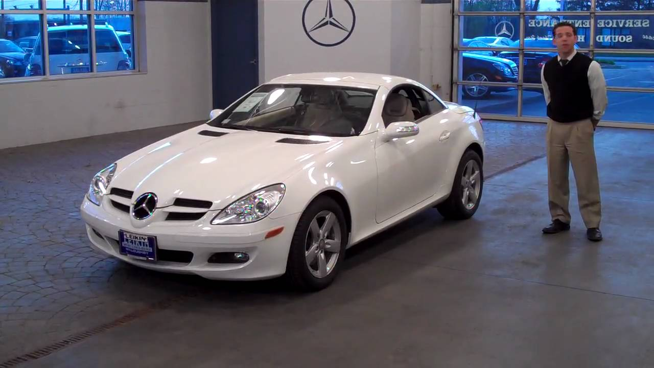 2008 mercedes benz slk280 at leikin motor companies youtube for Leikin mercedes benz