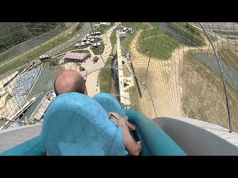 Highest鈥� Fastest鈥� Craziest Water Slides in the World!