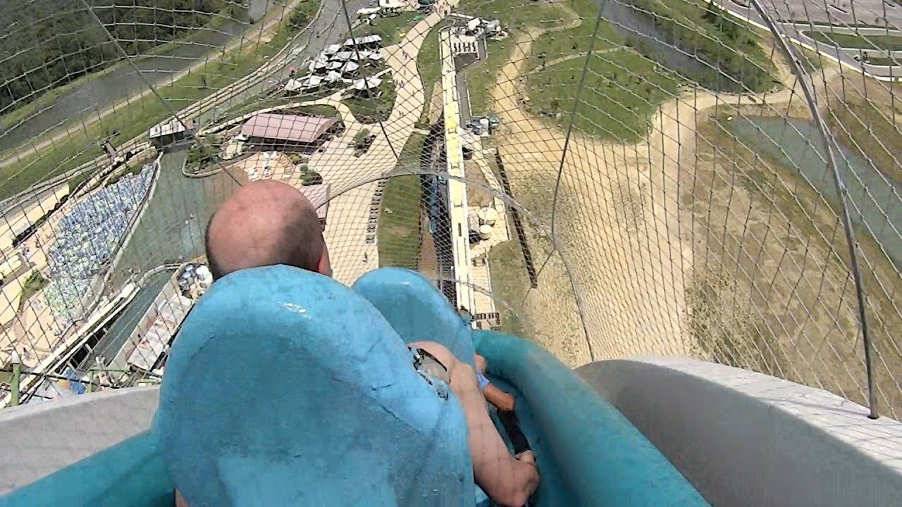 highest fastest craziest water slides in the world youtube
