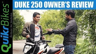 2017 KTM Duke 250 Long Term Ownership Review - Honest Real Life Review