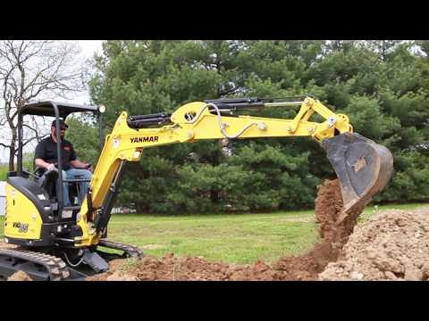 Yanmar Mini Excavators | Greg Abbott Equipment