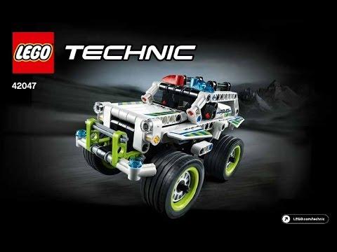 Lego Instructions Technic 42047 Police Interceptor Youtube
