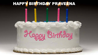 Praveena - Cakes Pasteles_12 - Happy Birthday