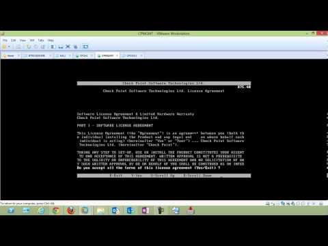 Checkpoint Secure Platform Nasıl Kurulur R75.40 -- Bölüm 1
