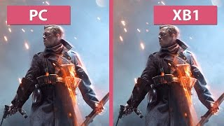 Battlefield 1 PC Ultra vs. Xbox One Graphics Comparison